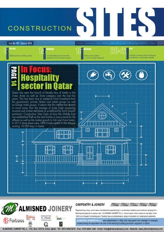 Construction Sites | February Issue no 103 by Qatar Construction