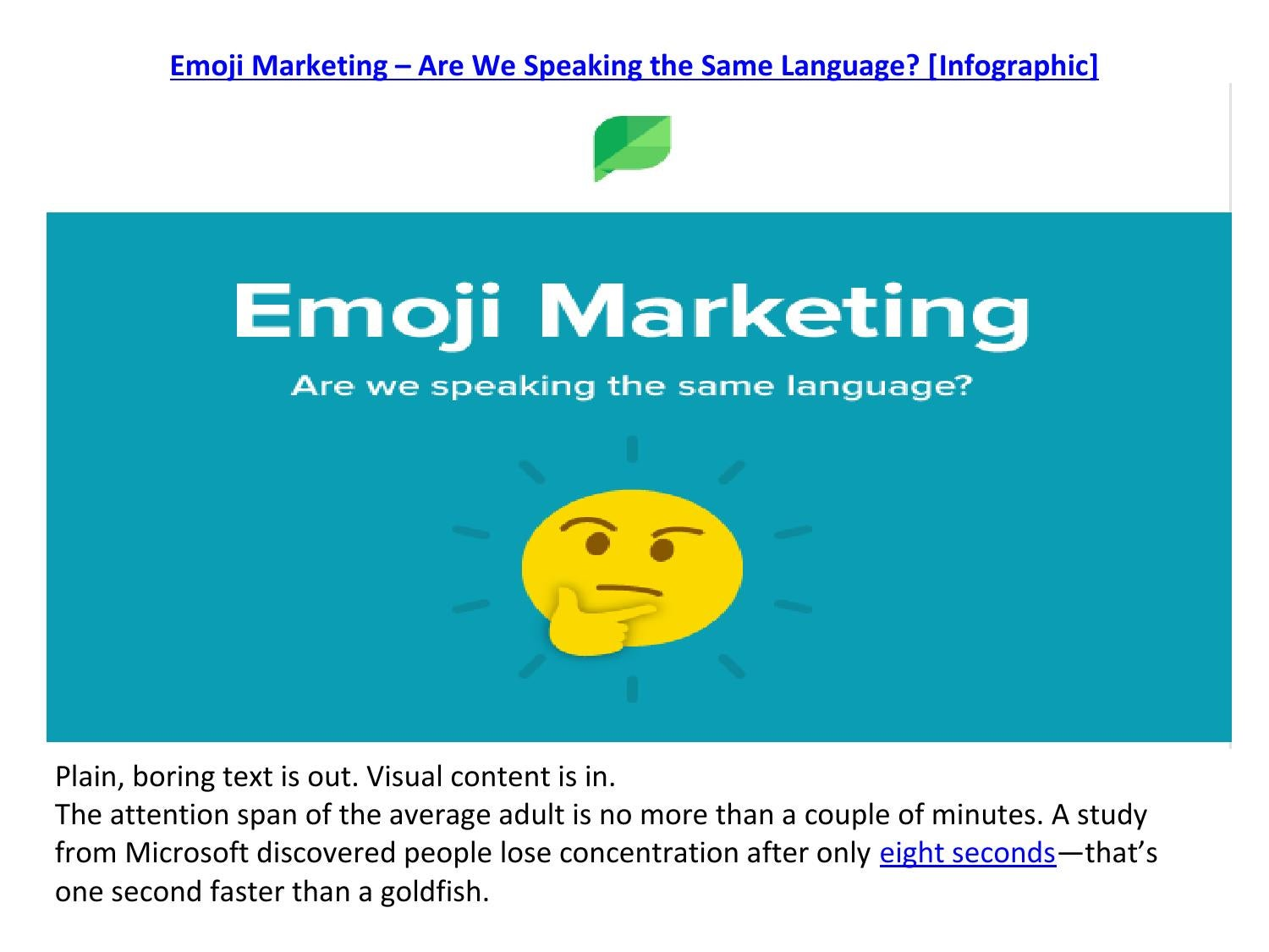Emoji marketing in 2016 by Hanif Sipai - issuu