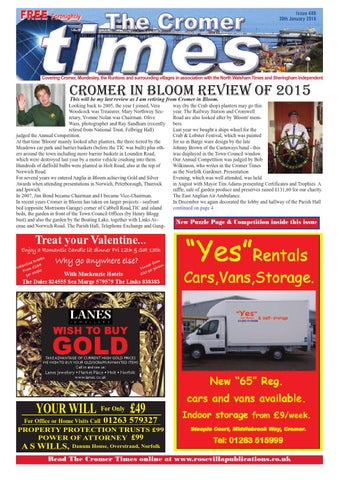 Cromer Times 486 by Eric Hayton - issuu 00b68a3080f6