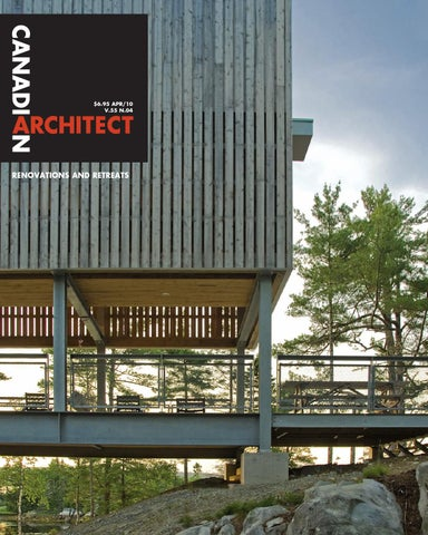 Canadian Architect May 2016 by IQ Business Media issuu