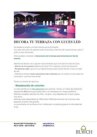 Ideas Para Decorar Tu Terraza Con Led Por Poco Dinero By