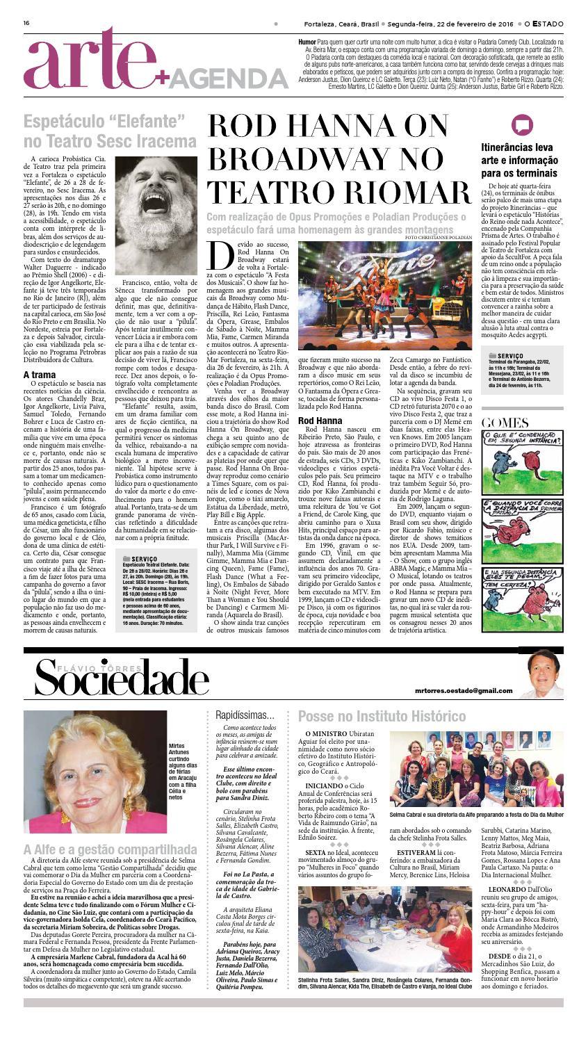 22 02 2016 - Edição 22707 by Jornal O Estado (Ceará) - issuu c46cf48dad