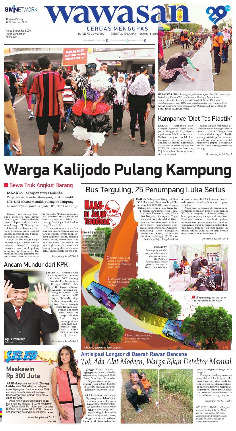 WAWASAN 22 Februari 2016 by KORAN PAGI WAWASAN - issuu 47f7f5494d