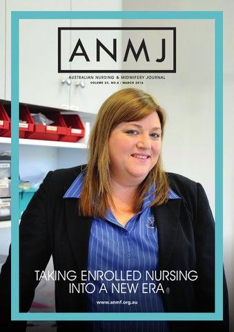 Anmj March 2016 By Australian Nursing Midwifery Journal Issuu