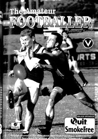 The Amateur Footballer Week 7 1998 By Andrew Leonard Issuu
