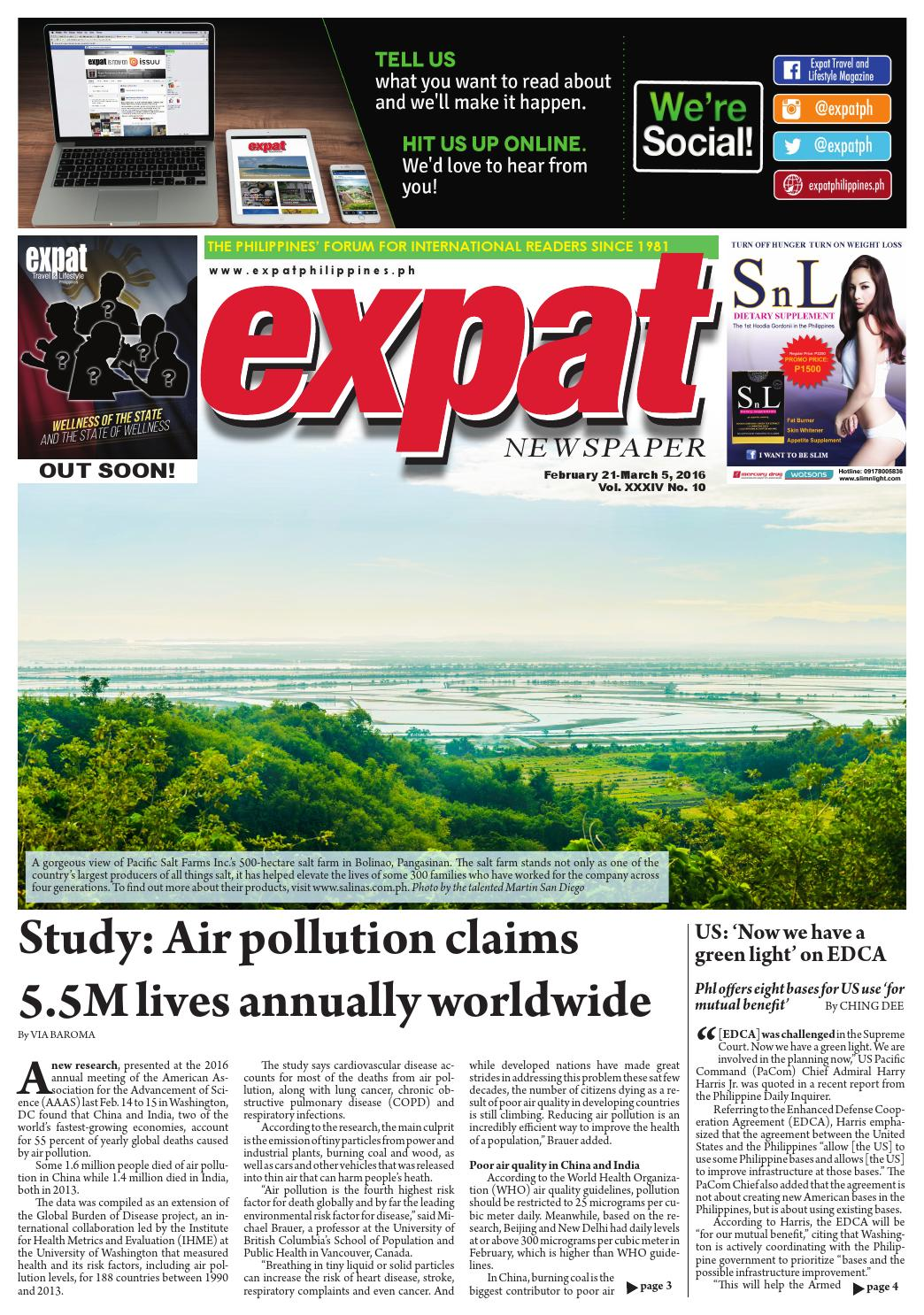 EXPAT NEWSPAPER 0221 - 0305 by Expat Communications - issuu