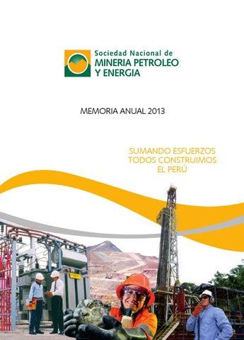 Memoria Anual 2013 by Sociedad Nacional de Minería 1bc6cddeca7