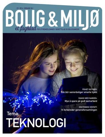a08e569b7 Bolig og miljø 01, 2016 by OBOS BBL - issuu
