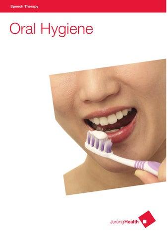 oral hygiene speech