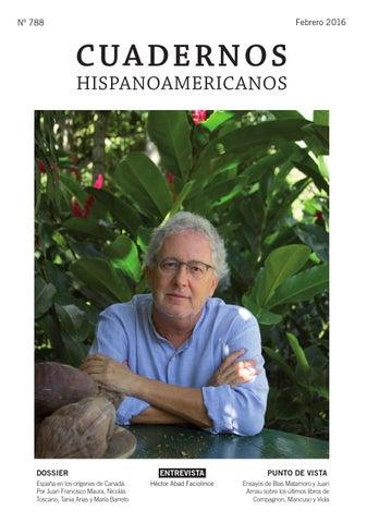 Cuadernos Hispanoamericanos 788 (Febrero 2016) by AECID ... 31dd4fdb7d6