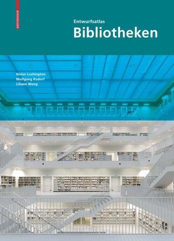 Entwurfsatlas Bibliotheken by Birkhäuser - issuu