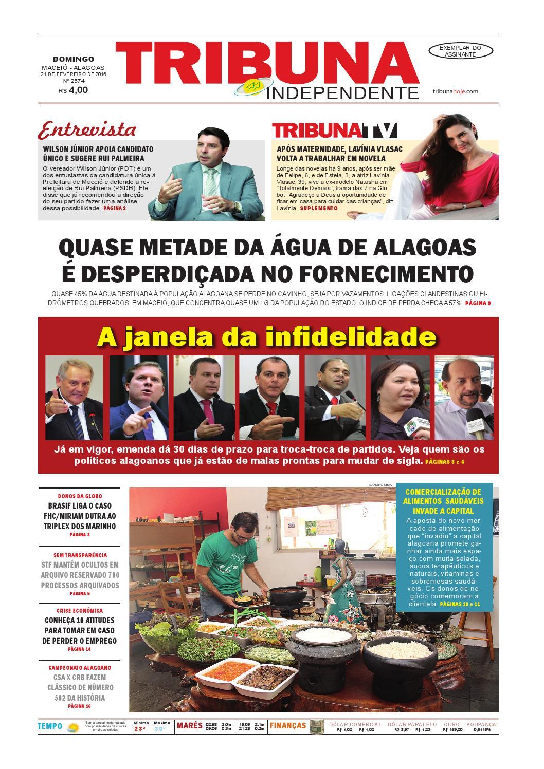 Edição número 2574 - 21 de fevereiro de 2016 by Tribuna Hoje - issuu 28b348a6a0