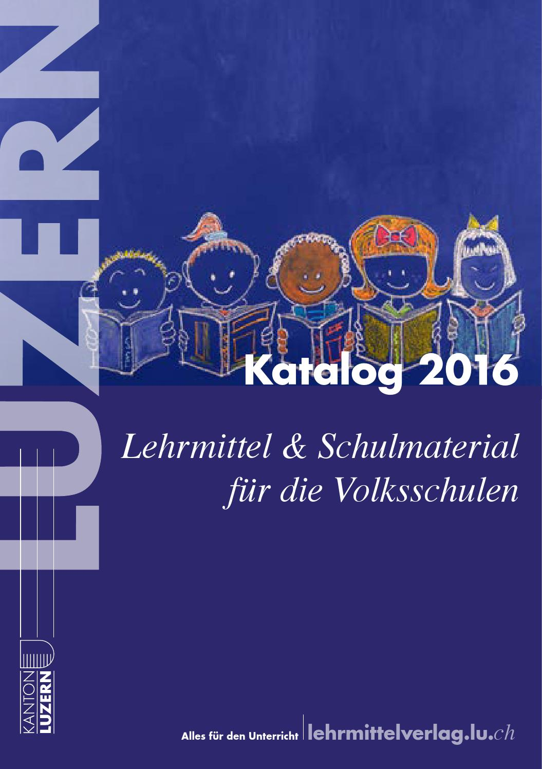 Lehrmittelverlag Katalog 2016 by Lehrmittelverlag Luzern - issuu