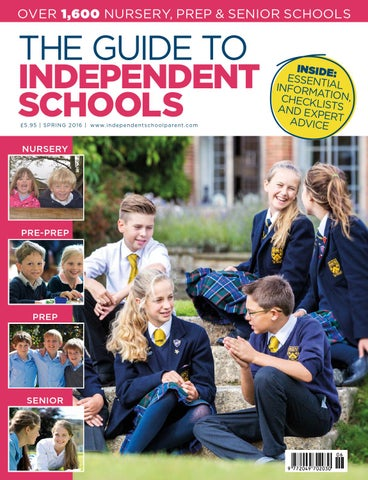 Independent School Parent Schools Guide Spring 2016 by The Chelsea