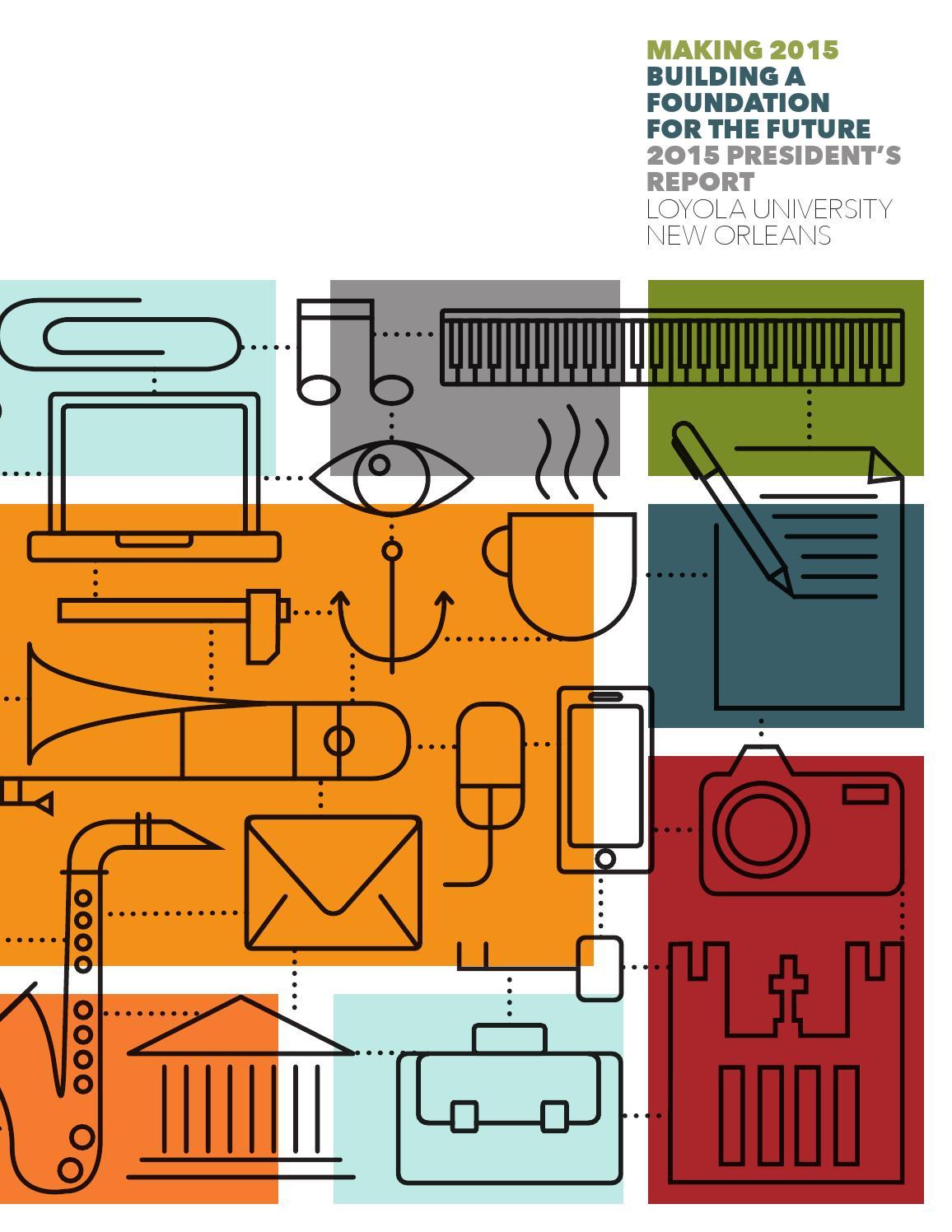 Presidents Report 2015 By Loyola University New Orleans Issuu Artemis Fan Wiring Diagram
