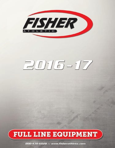 Fisher Athletic 2016-17 Master Catalog by Fisher Athletic