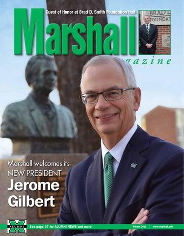 Marshall Magazine Winter 2016 by Susan Tams, Marshall