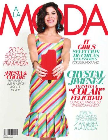 153acbb51 Revista A La Moda - Edición Invierno 2015 by A la Moda - issuu