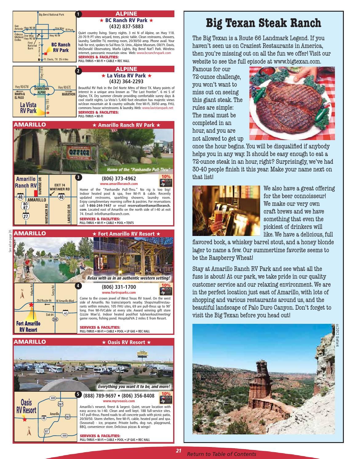 2016 Texas RV Travel & Camping Guide by AGS/Texas
