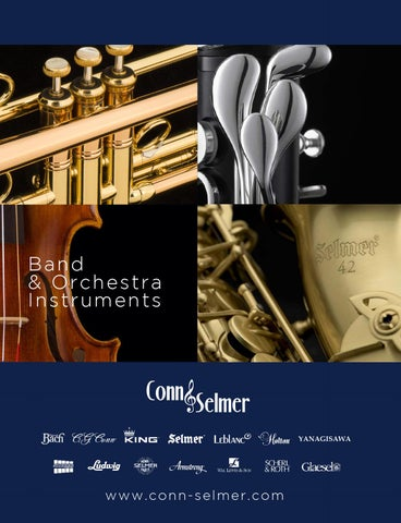 Conn-Selmer Full Line Band and Orchestra Catalog by Conn
