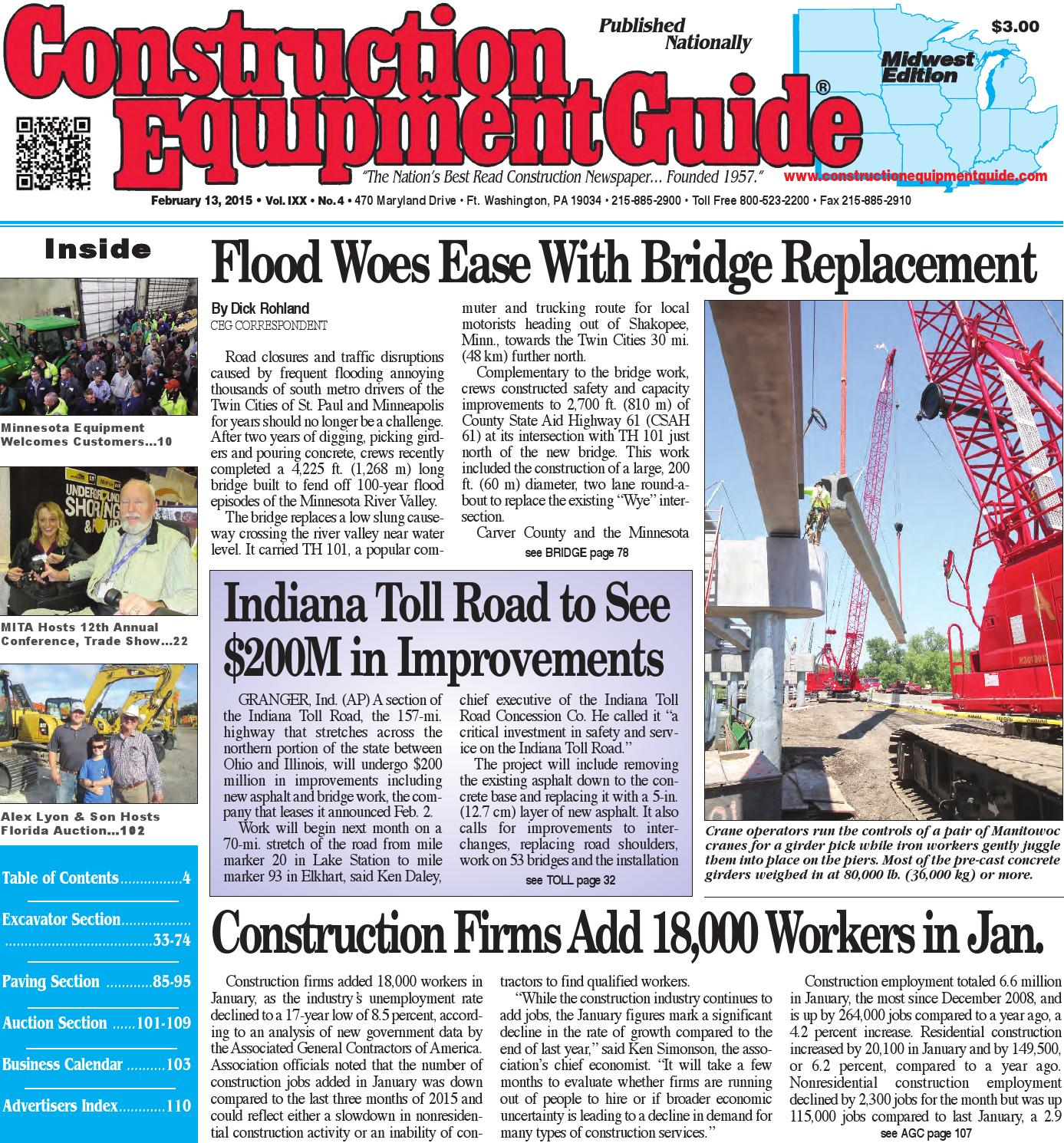 Midwest 04 2016 By Construction Equipment Guide Issuu Wiring Diagram Carver 3207
