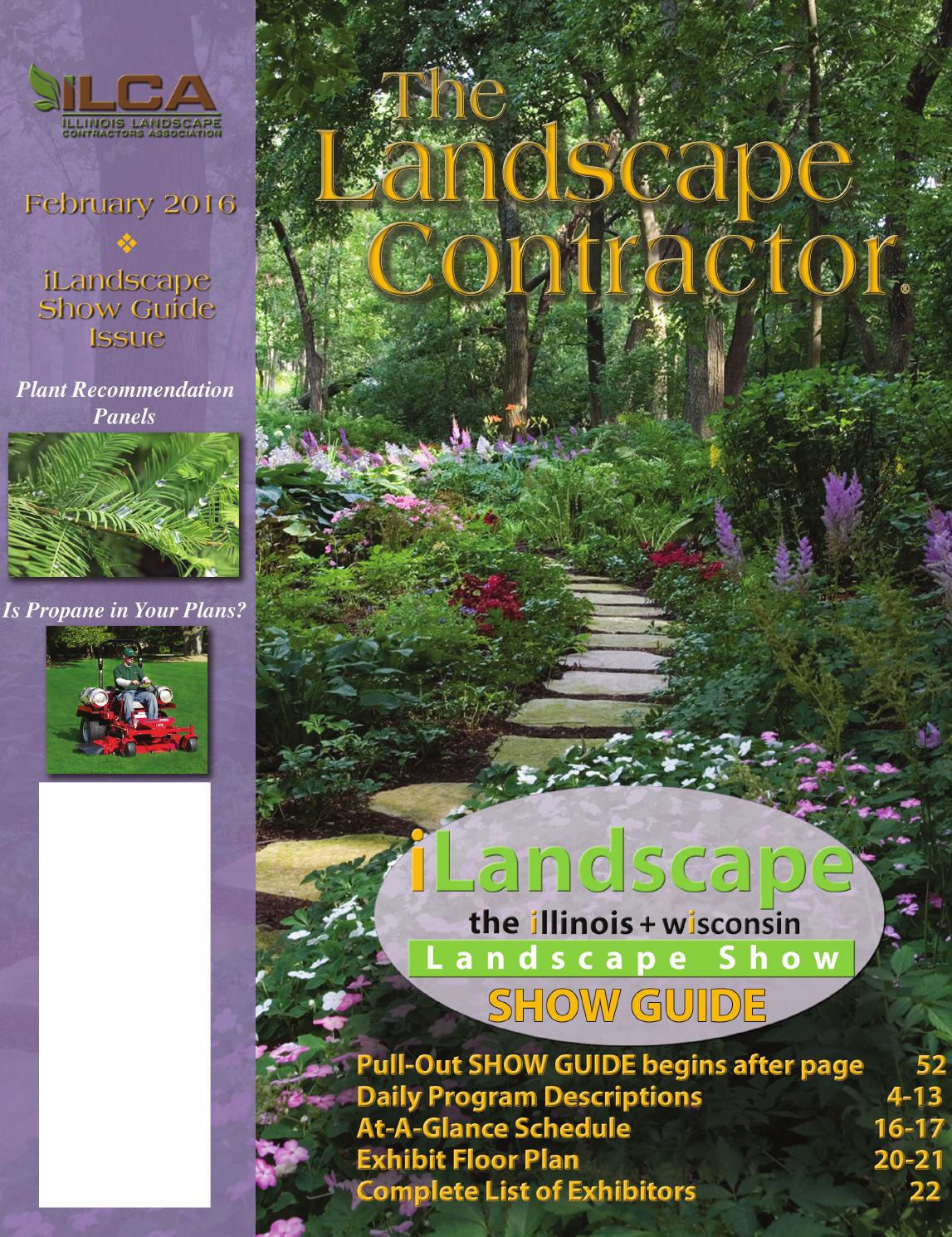 The Landscape Contractor magazine February 2016 by Association ...