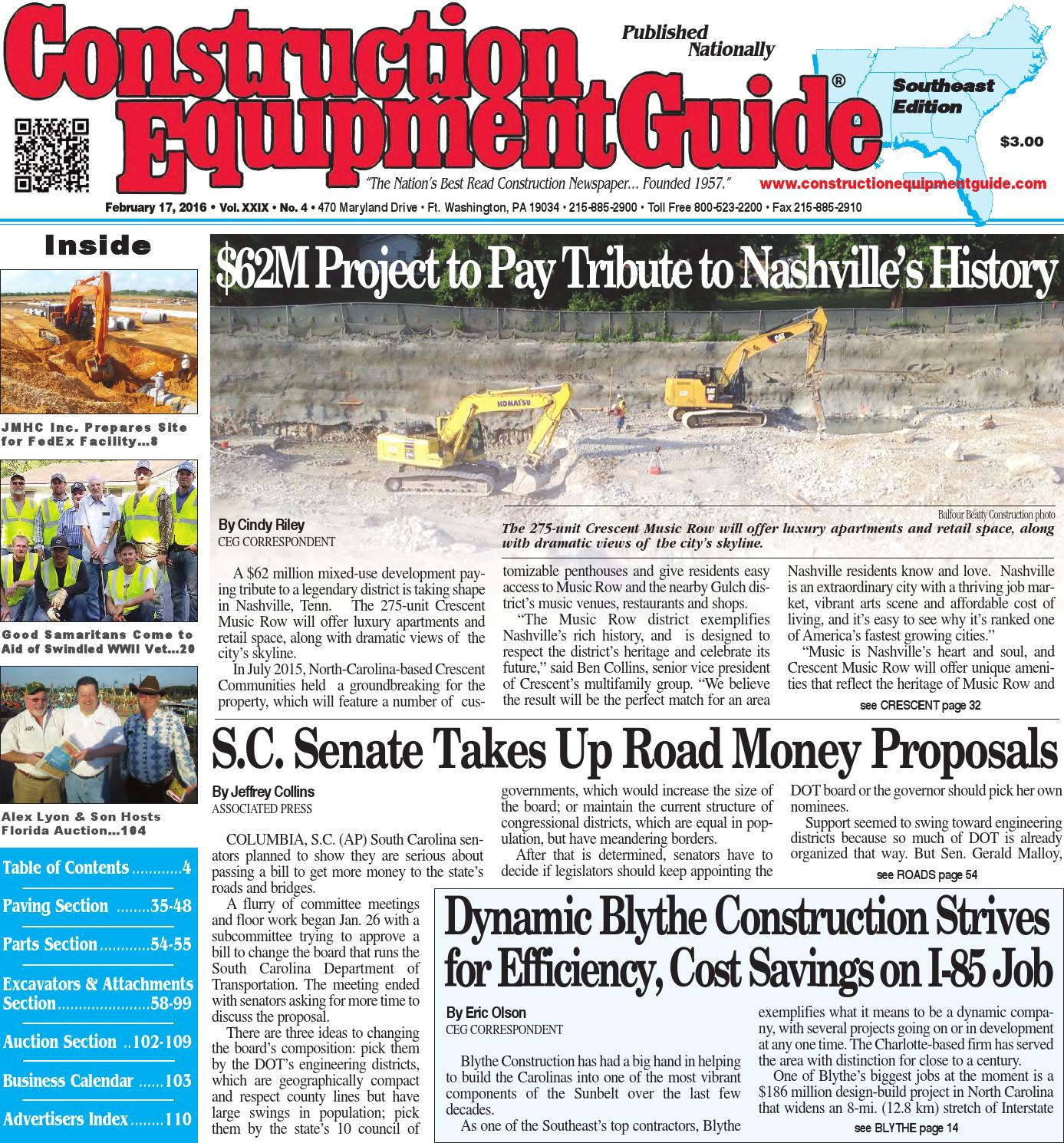 Southeast 04 2016 by Construction Equipment Guide - issuu afa3be3479