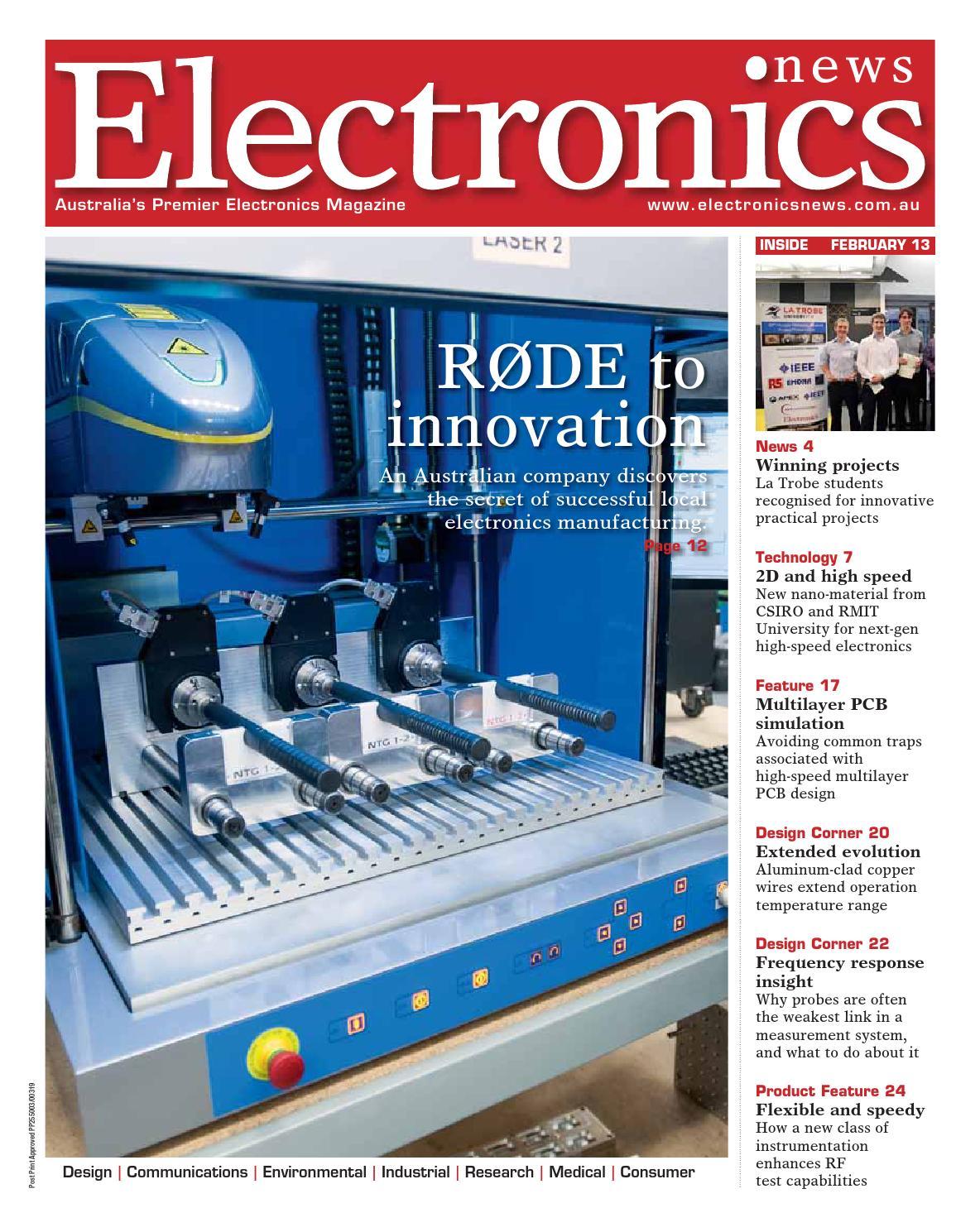 Electronics News February 2013 by PrimeCreative - issuu