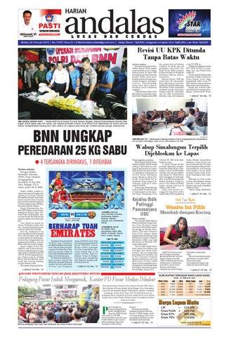 Epaper andalas edisi selasa 23 februari 2016 by media andalas - issuu 1322a3334d