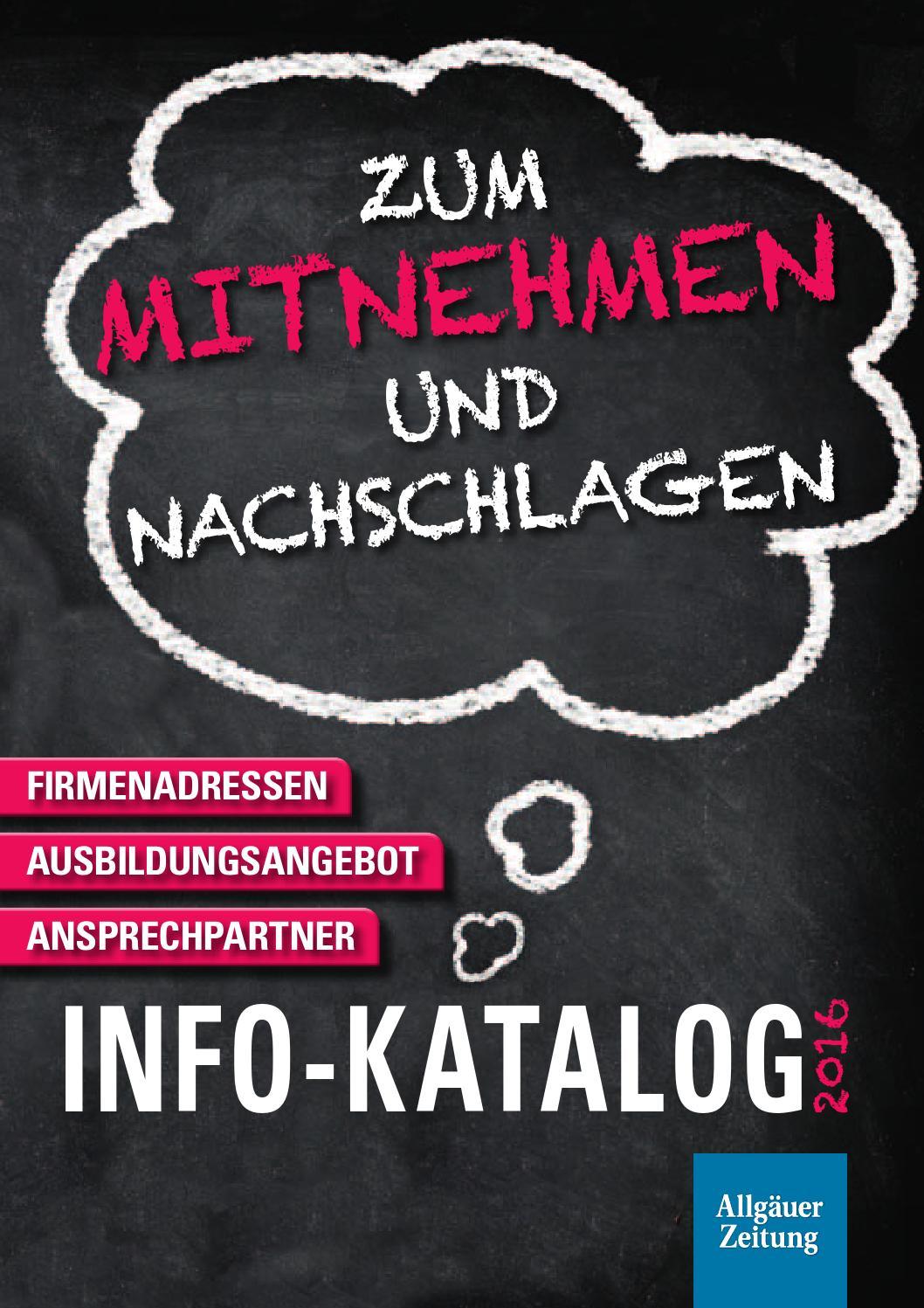Lehrstellenbörse Info Katalog 2016 By Rtadesign Gmbh Issuu