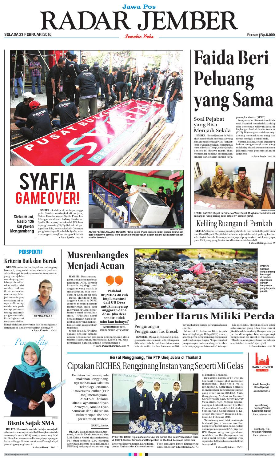 jember 230216 rj by radar jember online issuu
