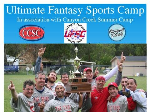 ultimate fantasy sports camp at the los angeles summer camp canyon