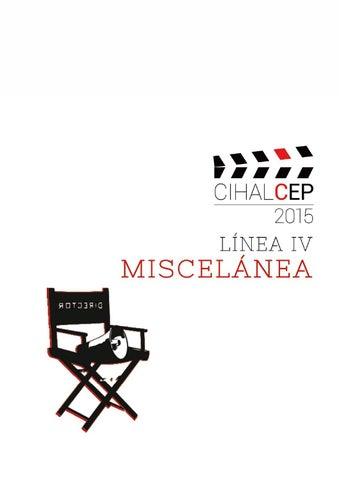 Cihalcep 2015 Iv Miscelánea By Centro De Estudios Brasileños