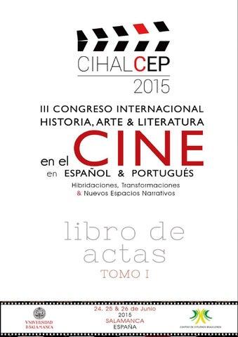 Cihalcep 2015 I Historia Y Cine By Centro De Estudios