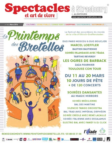 9f2a11c0ad3cf Spectacles Publications à Strasbourg n°190 / Mars 2016 by SPECTACLES ...