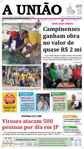 b786d7a6e2083 Jornal A União 23 02 16 by Jornal A União - issuu