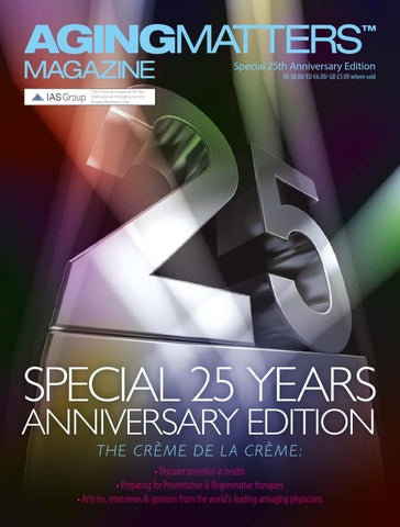 Aging Matters 1, 2016 - Special 25th Anniversary Issue