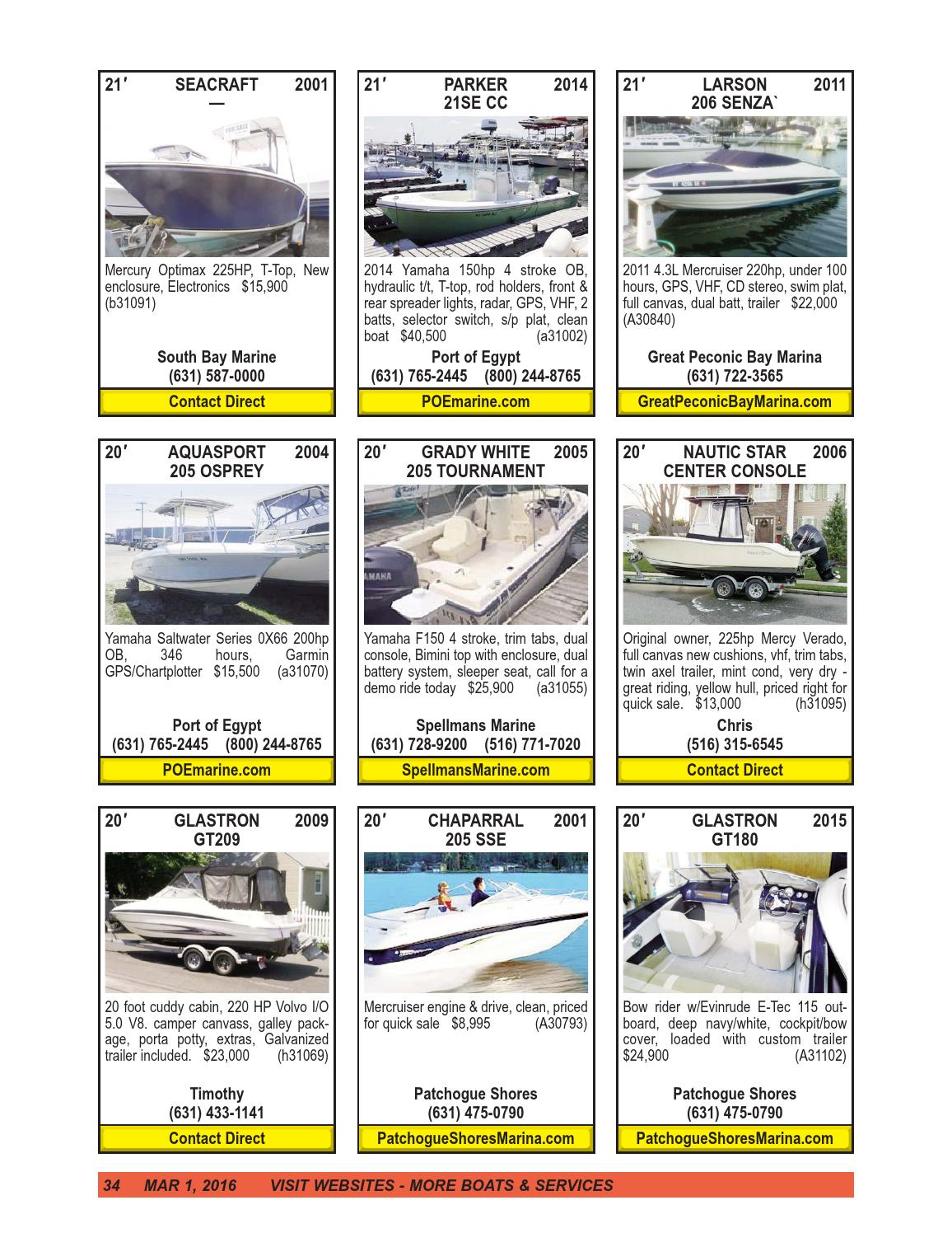 Boats4sale march 1, 2016 by Boats4Sale com Media - issuu