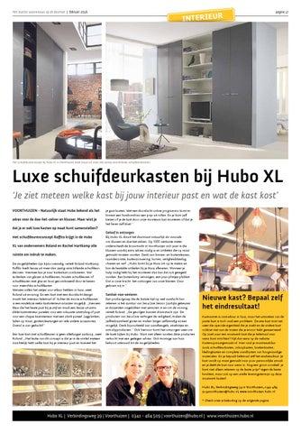 Schuifdeuren Op Maat Hubo.Hp Woonkrant Voorthuizen Feb2016 22pg By Hiemstra Media Issuu