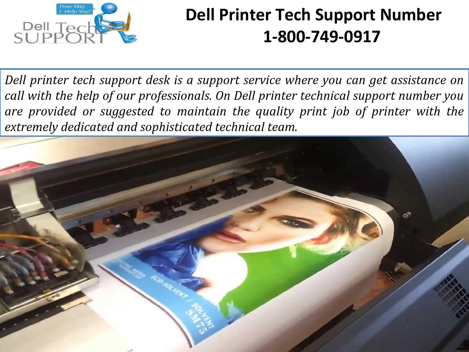dell printer tech support number 1