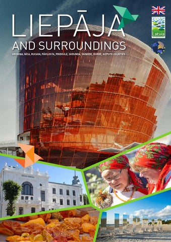 Tourism guide Liepja and surroundings 2016 by Liepaja Region
