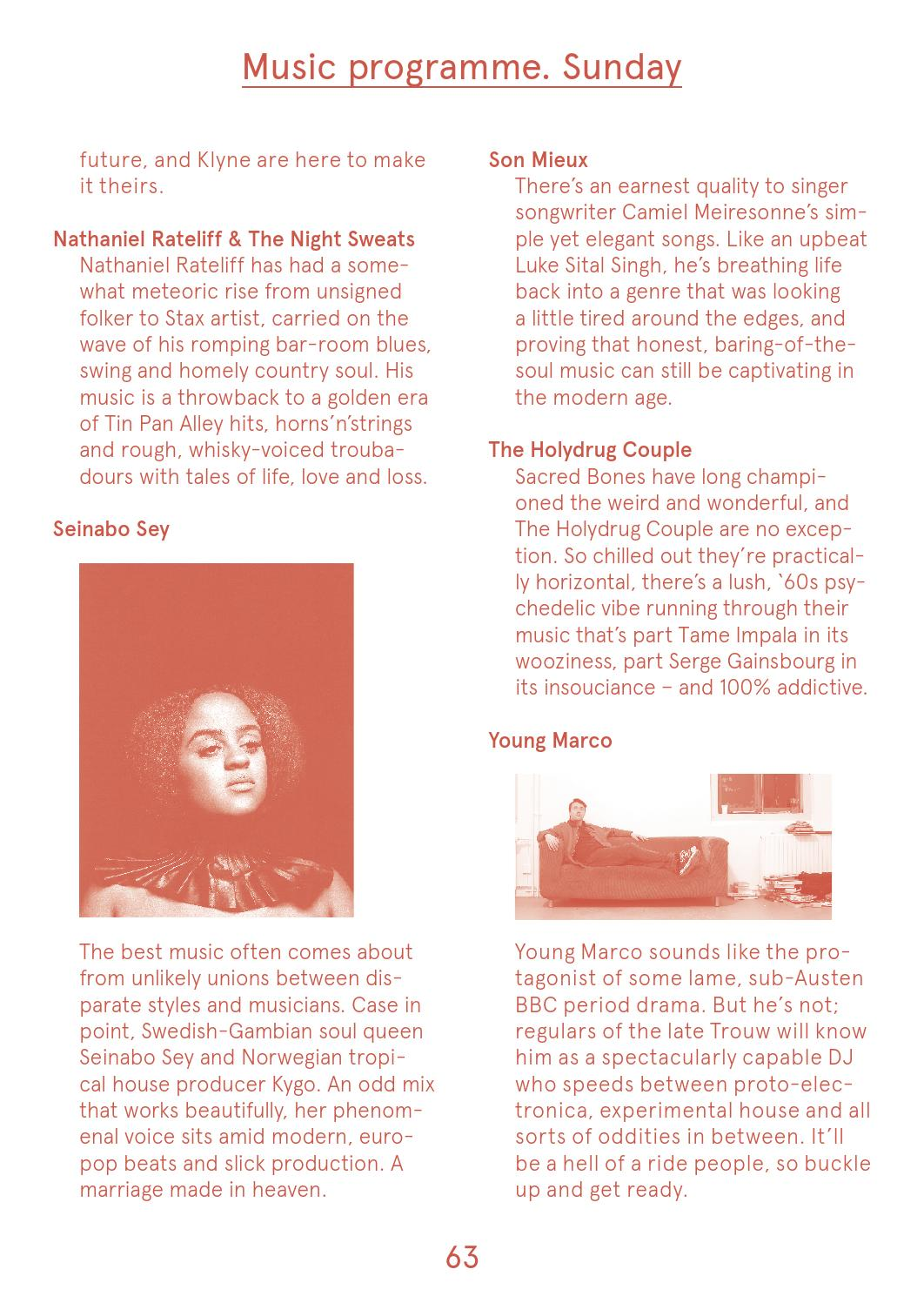 Where The Wild Things Are – Festival Guide 2016 by Subbacultcha - issuu