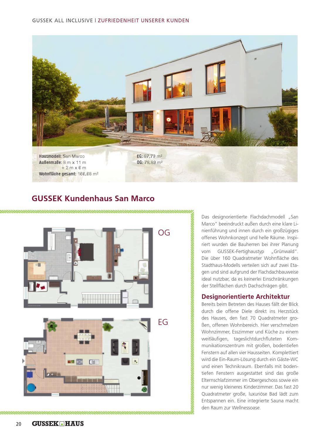 Attraktiv All Inclusive Ein Paket Voller Leistungen By GUSSEK HAUS By Family Home  Verlag GmbH Issuu