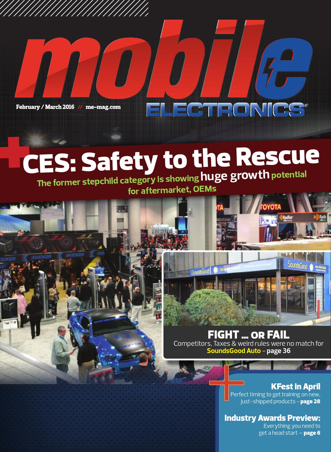 Mobile Electronics Magazine March 2016 By Issuu Toyota Developing Worldfirst Vehicle Wiring Harnesses Recycling