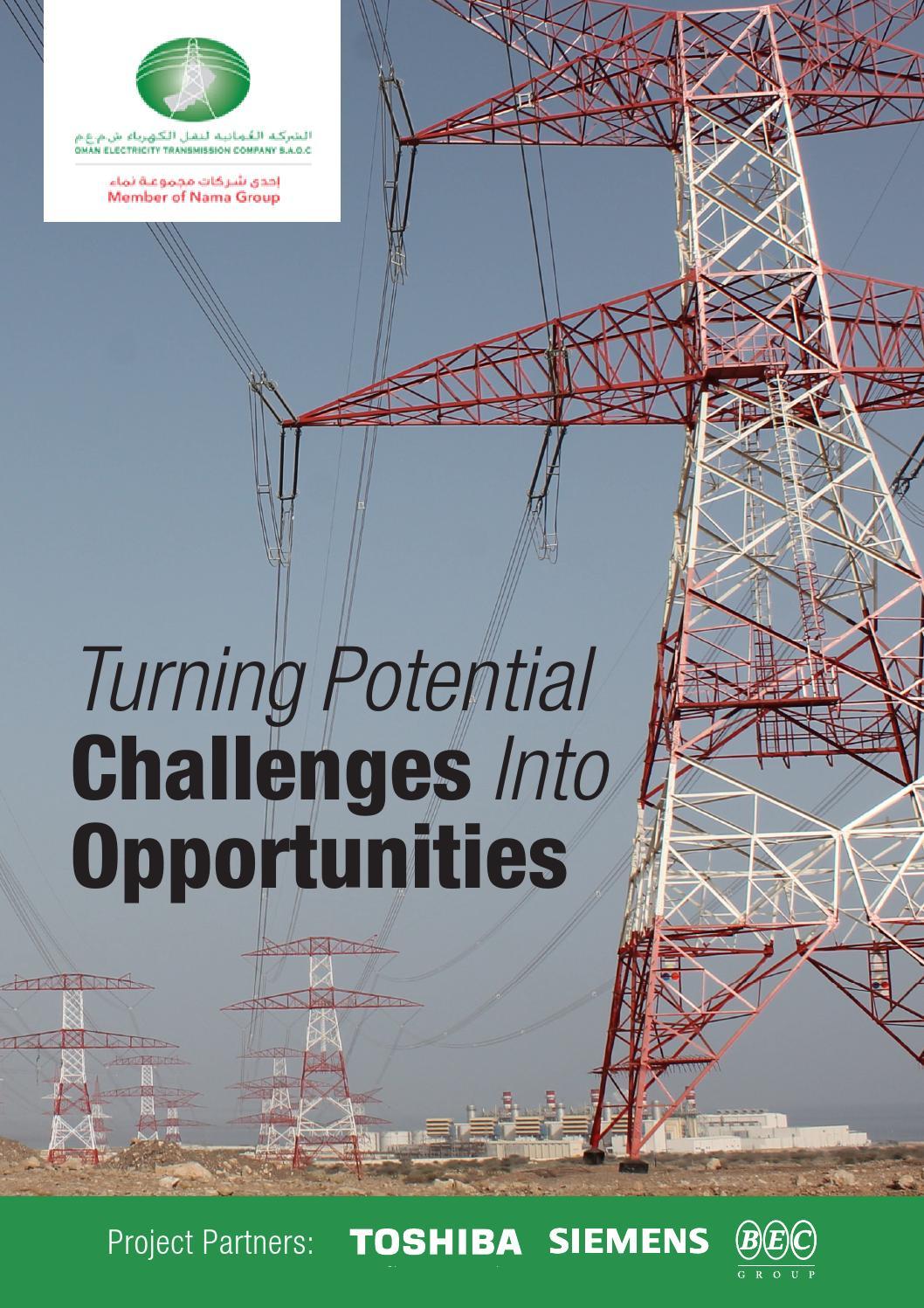 Oman Electricity Transmission Company Brochure - 2015 by