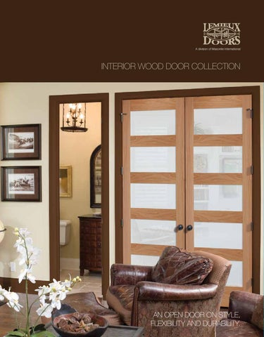 Lemieux Interior Wood Door Collection By Clearymillwork Issuu