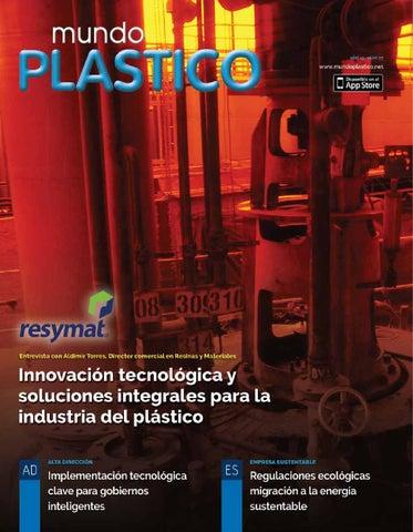 f66ffa0c5f Mundo Plástico No. 77 Febrero-Marzo 2016 by Mundo Plástico - issuu