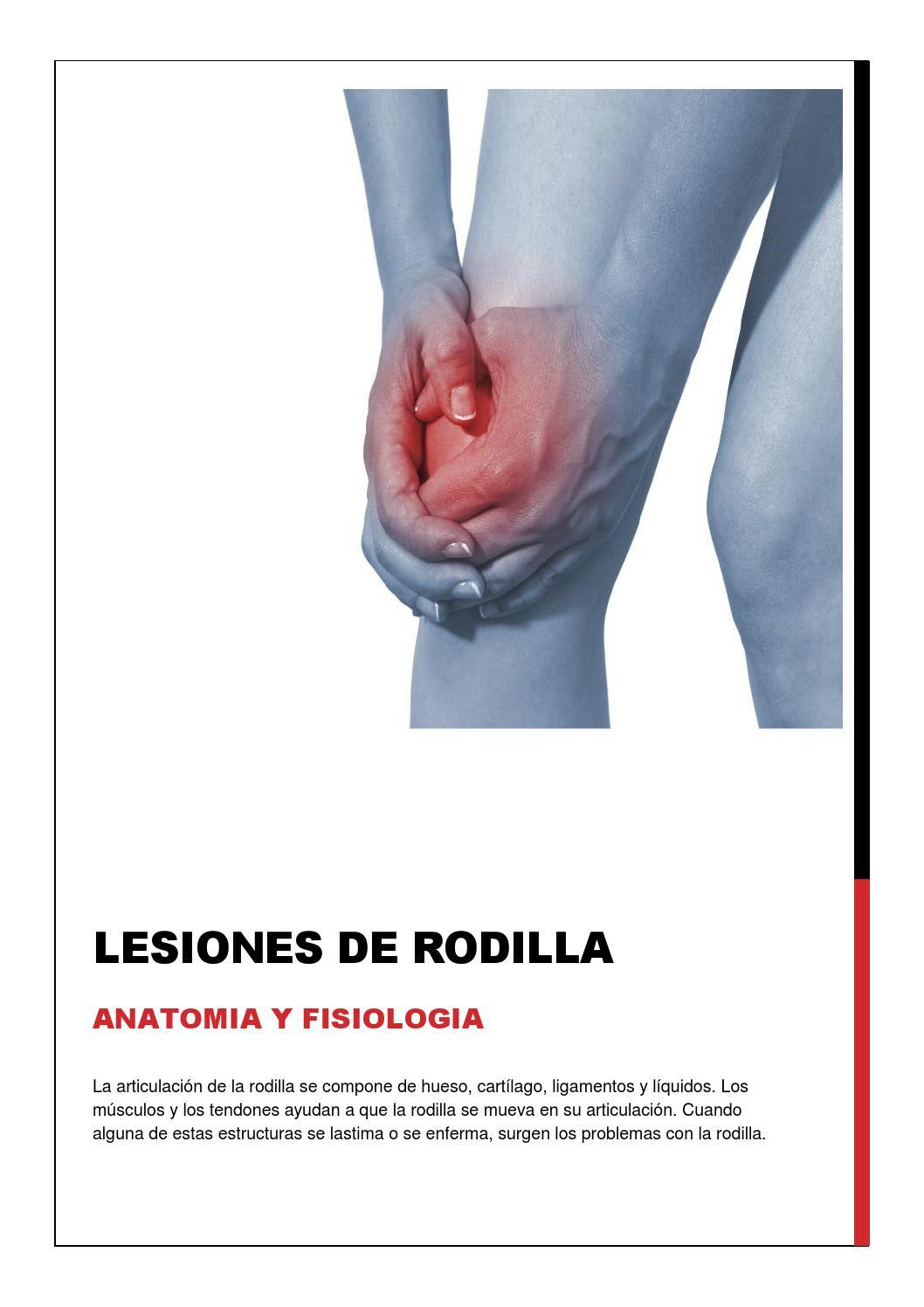 Lesiones de rodilla by Rodrigo Gomez - issuu