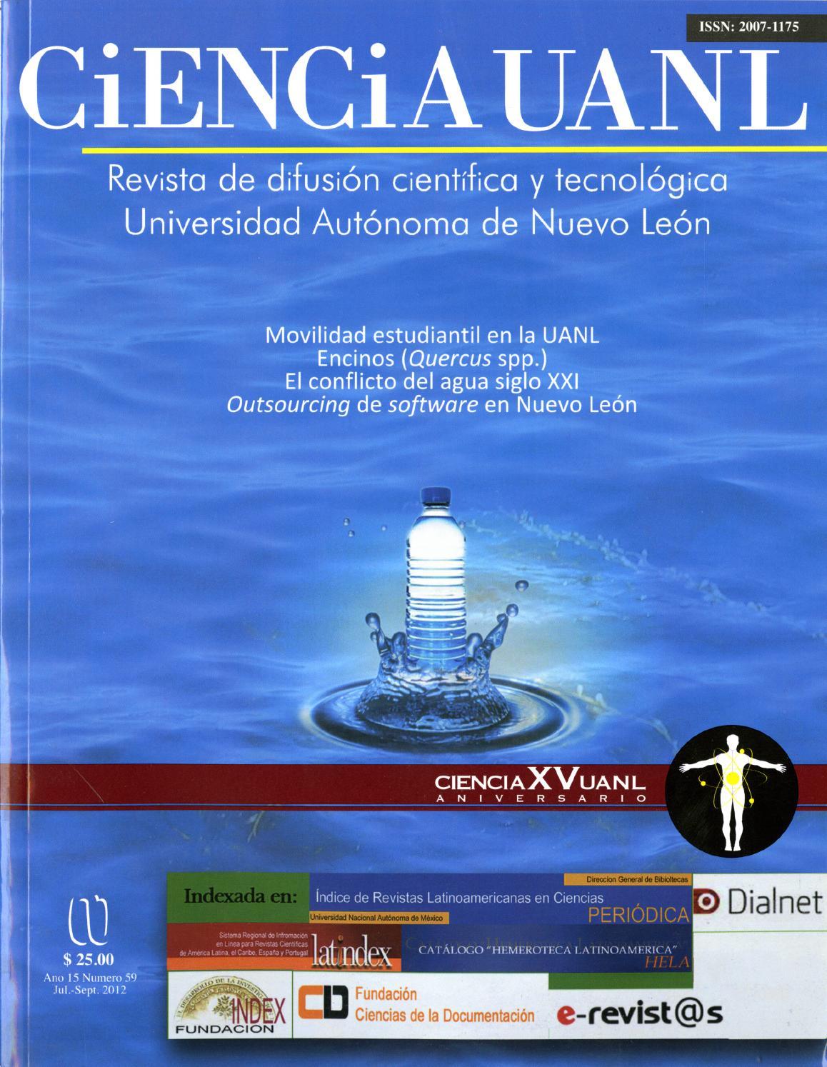 Ciencia UANL 15-59 by Rodrigo Soto Moreno - issuu