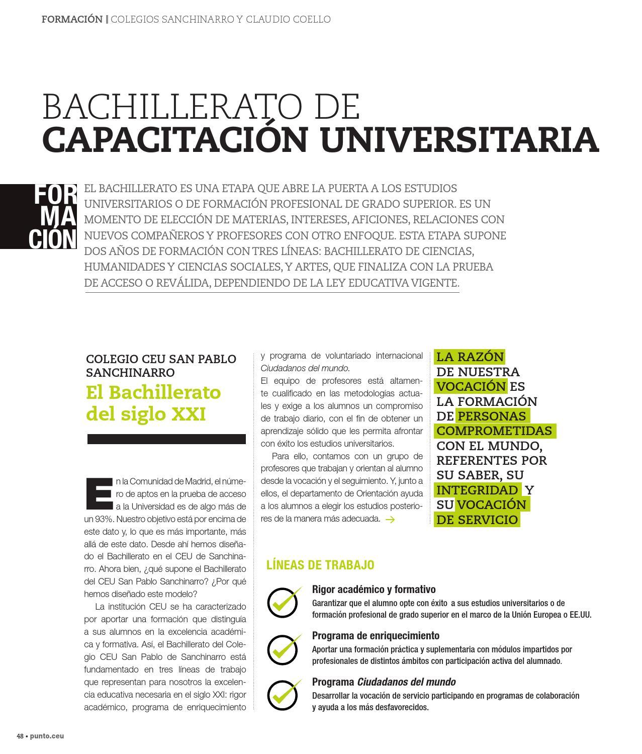 Nº 33 Revista Punto Ceu By Ceu Alumni Issuu